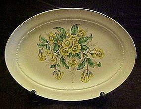 "Vintage buttercups pattern  11 3/8"" oval platter"