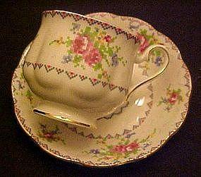 Royal Albert petit point cup and saucer set