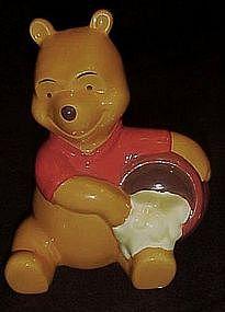 Winnie the Pooh and honey pot, figurine