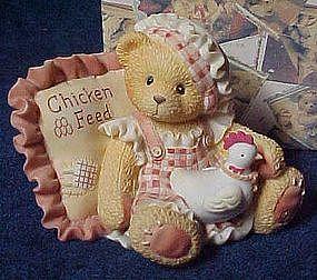 "Cherished Teddies figurine, Lori, ""those we love......."