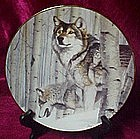 Broken Silence plate,  by Al Agnew, Year of the Wolf