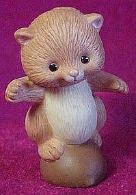 Avon little red squirrel figurine