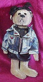 Pickford brass button bear Roxy, 20th century. 1980's