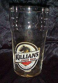 Killian's Irish AlRed,  Premium Lager beer glass