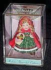 Hallmark mini ornament Madame Alexander, red riding