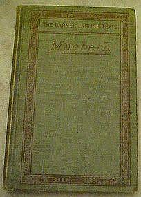 Macbeth 1914 by Barnes English Texts, Edwin Fairley
