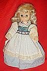 """8.5"""" Playmates doll 1980 Hong Kong original clothing"""