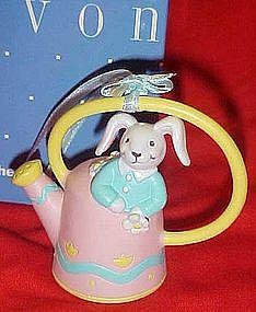 Avon busy bunny Easter ornament, bunny