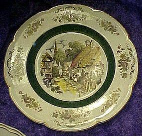Ascot (village) service plate by Wood