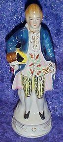 "Occupied Japan colonial man figurine 7.25"""