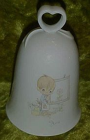 Precious Moment month of June porcelain bell
