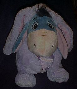 """Eeore Easter bunny ultra plush,  as new 12"""""""