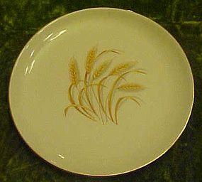 """Homer Laughlin Golden Wheat luncheon plate 9 1/4"""""""