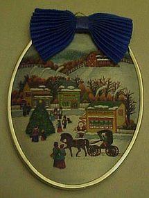 Hallmark 1985 Friendship Chrismas ornament