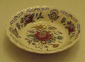 "Myotts Staffordshire Bouquet fruit sauce bowl 4 7/8"""