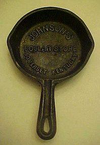 Advertising skillet Johnson's Dollar store Somerset KY
