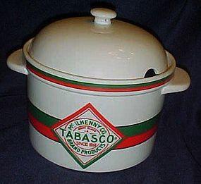 Tabasco brand soup tureen