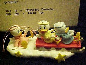 Disney Christmas Magic ornament Huey Dewy and Louie