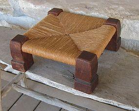 Early Gustav Stickley #726 Oak Footstool
