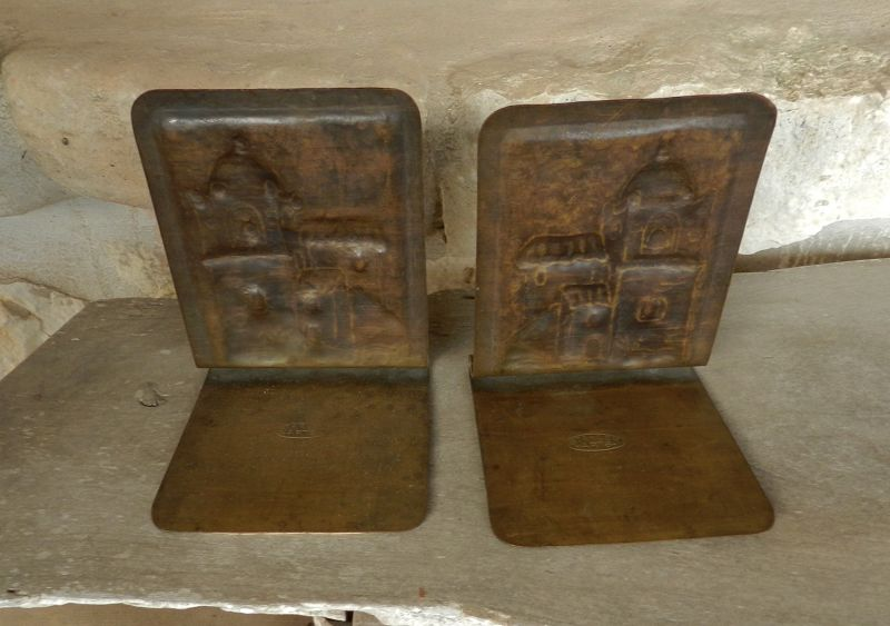 Arts & Crafts Bookends Mission Inn Riverside California