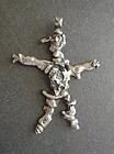 Rare Early Sam Kramer Large Sterling Figural Pendant Modernist Signed