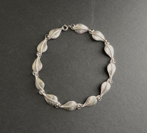 Vintage Ella L Cone Sterling Silversmith Necklace Arts Crafts Signed