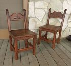 Antique New Mexico Chairs Southwestern Style
