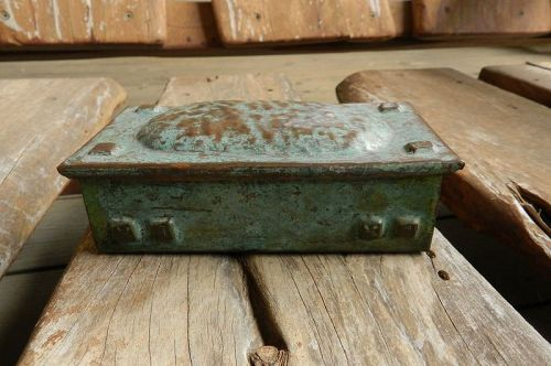 Rare & Fine Forest Craft Guild Copper Arts & Crafts Box