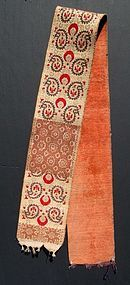 MOROCCAN WEDDING SASH, 19TH CENTURY