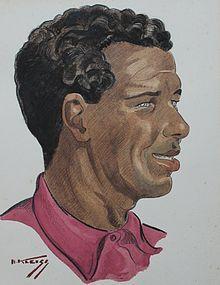 HANS KLEISS, PORTRAIT OF A BERBER MAN, MOROCCO