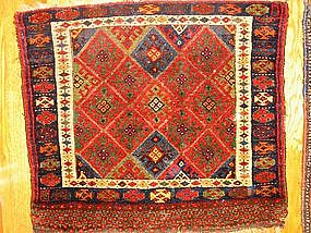 Outstanding Antique Jaf Kurd Bag Front, 19th Century