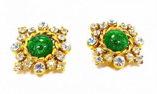 Chanel Gripoix Earrings