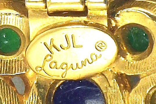 Vintage K.J.L .For Laguna Pearl Necklace
