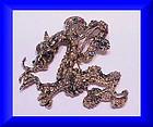 Cyvra figural dragon brooch pendant -1964- large