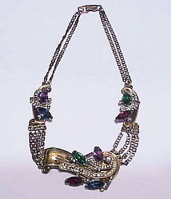 McClelland Barclay raised style necklace- Ca. 1941