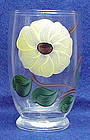 Blue Ridge 'Ridge Daisy'glass tumblers-Southern Pottery