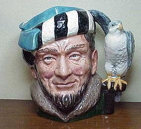 """Royal Doulton character jug """"The Falconer""""  D6533"""