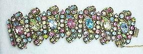 Hollycraft's largest multi color pastel bracelet ever!