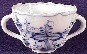Meissen Blue onion bouillon cup