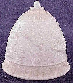 Lladro 1989 Feliz Navidad bell