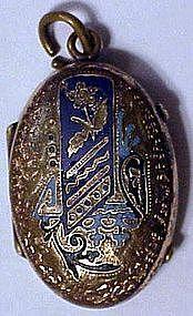 Victorian locket  ca 1880