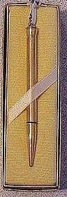Cross 10kt RGP lady's ring top pencil in original box