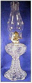 "Coolidge Drape clear Kerosene lamp & chimney ( 91/4"" )"