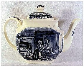 LIBERTY BLUE by STAFFORDSHIRE TEAPOT