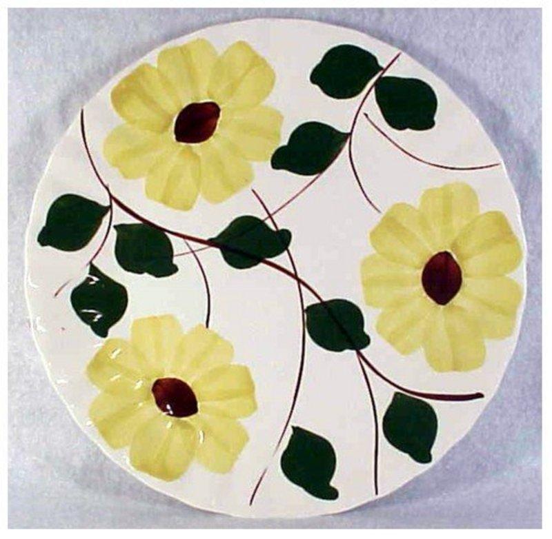 Ridge Daisy Blue Ridge So Pott Luncheon Plate