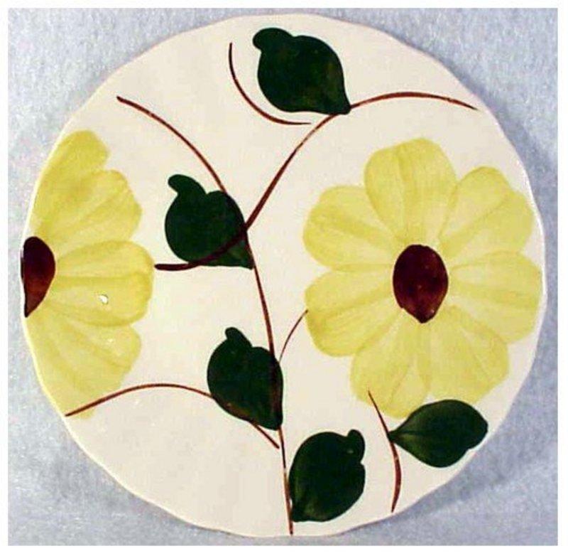 Ridge Daisy Blue Ridge So Pott bread & butter plate