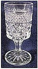Wexford 5 1/5 ounce crystal stemmed wines / juice