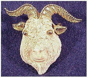 Razza Zodiac ram pin