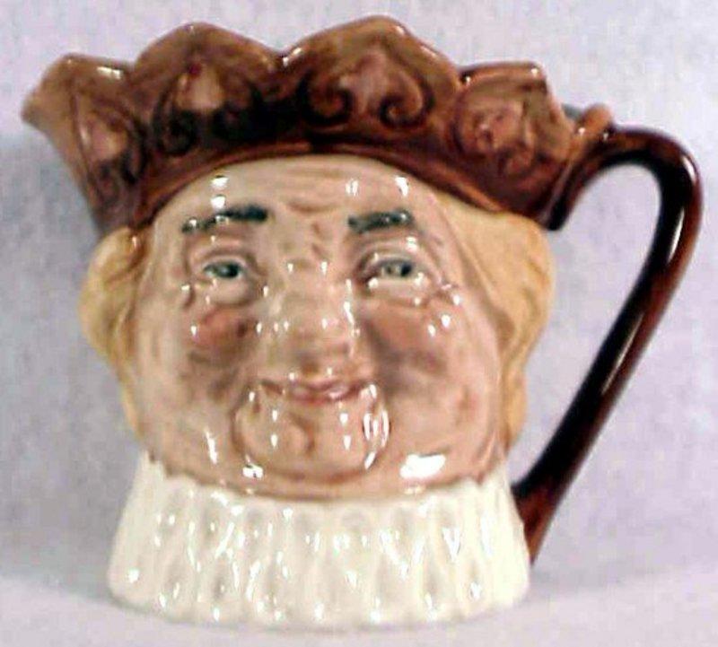 """Royal Doulton Old King Cole character jug-A Mark 3 1/4"""""""