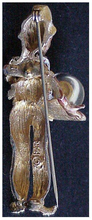 Har Dragon's breath fortune-teller male genie pin